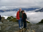 My wife Patty and I in the Blue Mountains in Australia